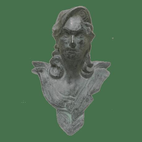 Buste de bureau - Modèle CHAVANON 18 cm - Bronze vert
