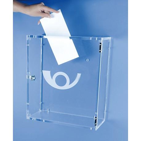 Boîte aux lettres - dépôt de dossiers