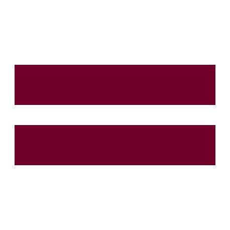 Lot de 100 drapeaux de table Lettonie en plastique