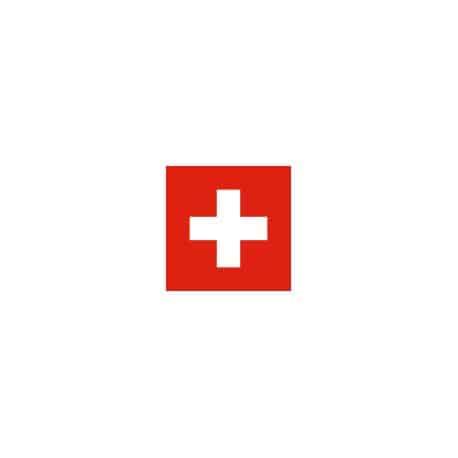 Lot de 100 drapeaux de table Suisse en plastique
