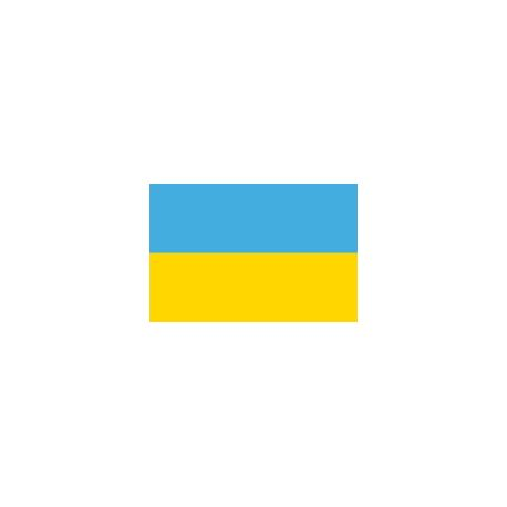Drapeau de table Ukraine 10 x 15 cm