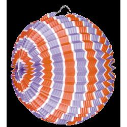 Lampion ballon tricolore - LOT de 12