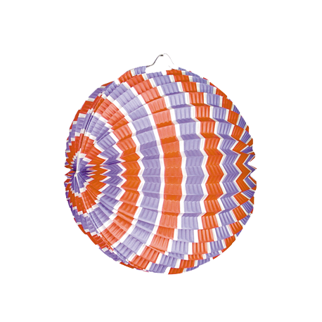 Lampion ballon tricolore - LOT de 12