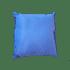 Coussin 30 x 30 cm en Ottoman - Bleu