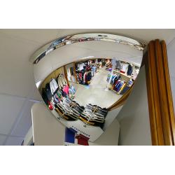 Miroir hémisphérique Vision 90° - Diam. 0600 mm