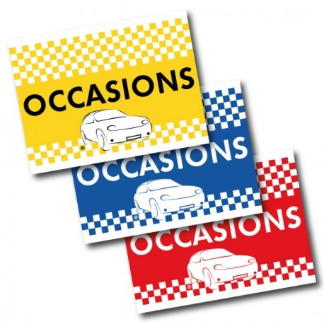 Drapeau de voiture Occasion Bleu