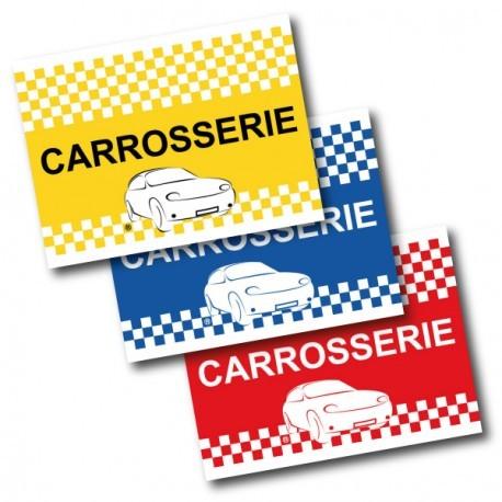 Drapeau de voiture Carrosserie - Bleu