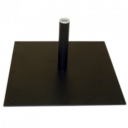 Pied platine 40x40 cm