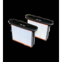 Cassettes filtrantes FKP4300 pour aspirateur ISP - Lot de 2
