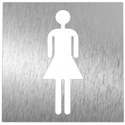 Pictogramme en acier Femme