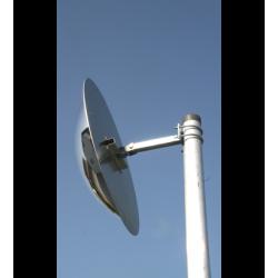 Poteau diamètre 60 mm hauteur 3,50 mètres