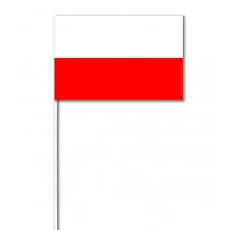 Drapeaux 14x21 Pologne à agiter