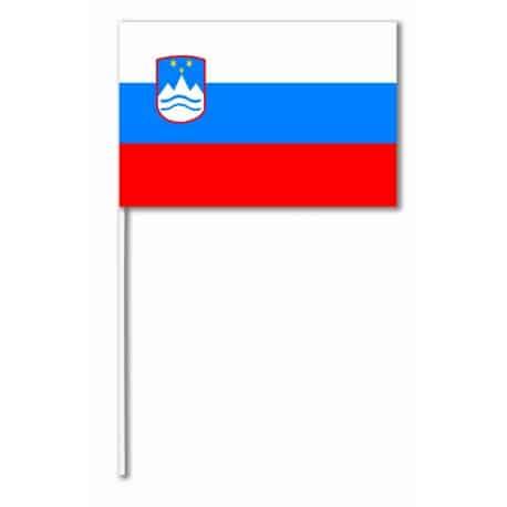 Drapeaux 14x21 Slovénie à agiter