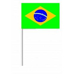 Drapeaux 14x21 Brésil à agiter