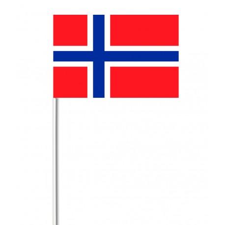 Drapeaux 14x21 Norvège à agiter