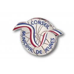 Pin's design Conseil Municipal des Jeunes