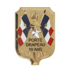 Broche Porte Drapeau
