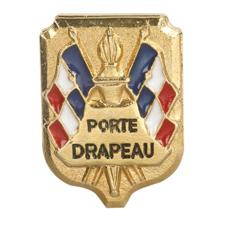 Boutonnière Porte Drapeau - attache pin's