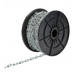 Chainette acier pour miroir 360° Rouleau 30 m