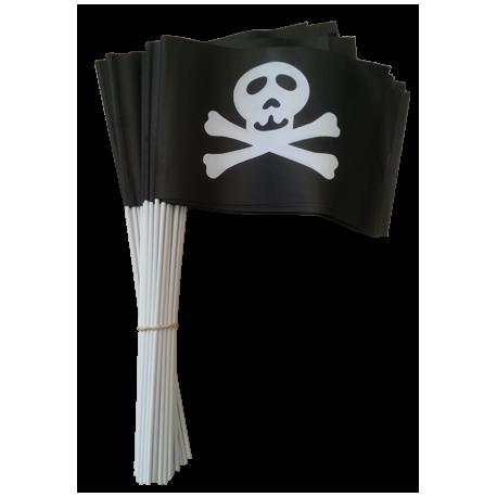 Drapeaux 14x21 Pirate à agiter