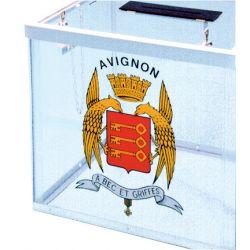 Adhésif de personnalisation pour urnes
