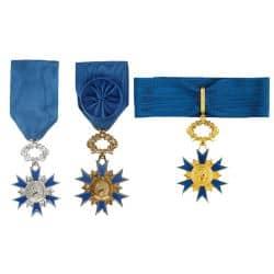 Médaille de l'Ordre National du Mérite