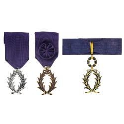 Médaille de l'Ordre des Palmes Académiques