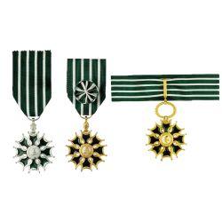 Médaille de l'Ordre des Arts et des Lettres