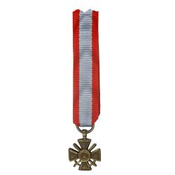 Réduction Croix de Guerre T.O.E.