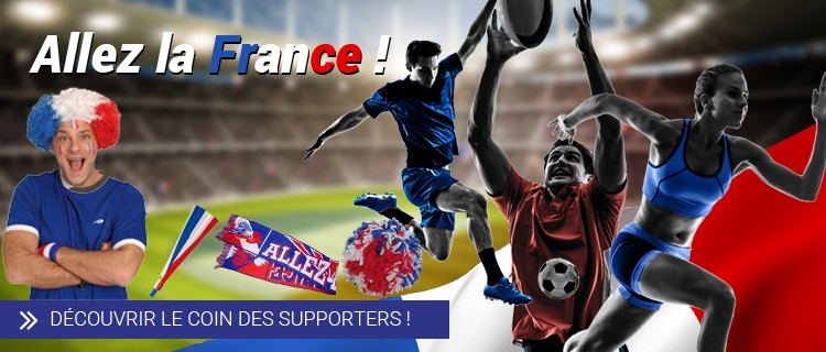 Boutique supporter Allez la France